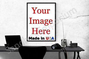"""24x36"""" GLOSSY Custom Printed Your Photo Poster Image Enlargement 36x24"""