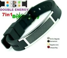 Anion Magnetic Energy Germanium Power Bracelet Health 7in1 Bio Armband BAND 4586