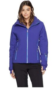 Spyder Women Rhapsody Jacket Blue Size XS Snow Ski Snowboard NEW