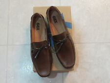 NIB GBX Footwear Mens Slip On Loafers Dress Shoes-Size-8.5-Color-Henley Brown