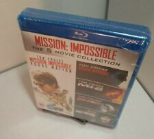 Mission Impossible 5 Movie Collection (Bluray, REGION FREE) NEW-Free Shipping~
