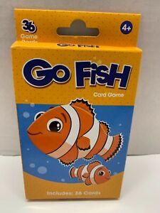NEW Go Fish Card Game Includes 36 Cards Ages 4+