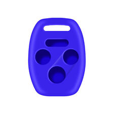 Honda Civic 2006-2013 with Truck Blue Rubber Silicone Key Fob Cover