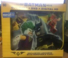 THE LEGO BATMAN MOVIE BLU RAY DVD DIGITAL WALMART EXCLUSIVE LUNCHBOX