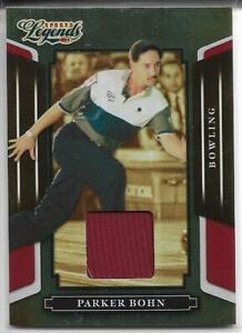 2008 DONRUSS LEGENDS PARKER BOHN RED RELIC CARD #37 ~ /500 ~ PBA BOWLING LEGEND