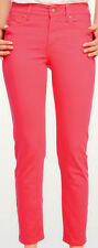 Not Your Daughters Jeans Tummy Tuck Bright Waermelon Skinny Ankle Jeans Size 16P