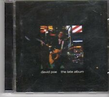 (DM267) David Poe, The Late Album - 2002 CD