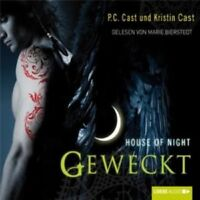 P.C. CAST - HOUSE OF NIGHT- GEWECKT (TEIL 8) 5 CD NEU