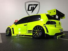 CUSTOM RC TAMIYA 1/10 VW GOLF24 TOURING DRIIFT BODY SHELL,  HPI SPRINT 2  MST