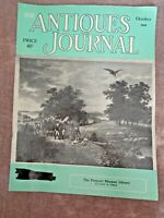 Antiques Journal 1959 Pierpont Morgan Library Victorian watches Clocks Delft Art