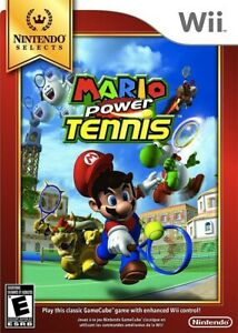 Mario Power Tennis Nintendo Selects - Nintendo Wii Game