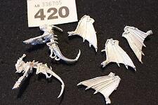 Juegos taller Warhammer 40k sarcófagos gárgolas x2 metal sin pintar WH40K Tiránidos
