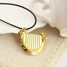 The Legend Of Zelda 18K Gold Plate Harp pendant charm necklace *NEW* SALE! V'DAY