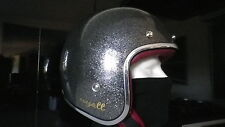 CASQUE WYATT  HARLEY,café racer,old school,taille XL look vintage retro 3/4 bol