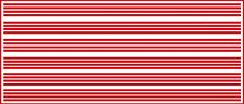 1/16 INCH (.0625) VINYL PEEL STICK HO SCALE STRIPES STRIPE GLOSS RED DECALS
