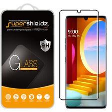 2X Supershieldz Full Cover Tempered Glass Screen Protector for LG Velvet (Black)