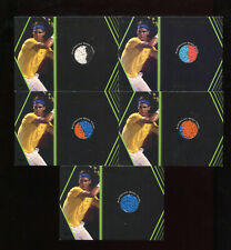 2012 Ace Authentic Grand Slam 3 Rafael Nadal Lot of 5 Towel Swatch Cards