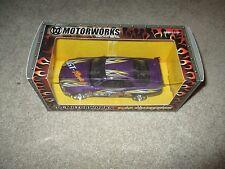 Motor Works 1:24 Collection Diecast Purple Nissan Skyline GT-R MISB 2003