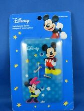 Mickey and Minnie Mouse Switch Plate Cover