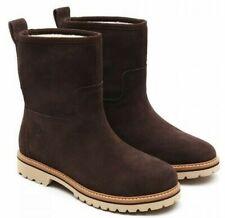 Womens Ladies Timberland Chamonix Brown Boots Fleece Lining Casual Size UK 4