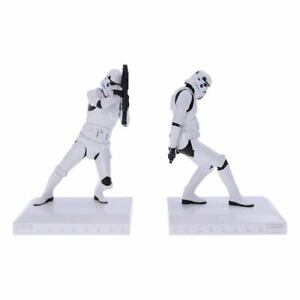 Star Wars Nemesis Now Buchstützen Bookends Stormtrooper Figuren Statuen