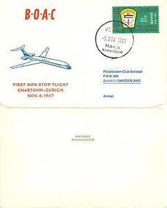 1524 - Africa - Volo BOAC da Khartum a Zurigo (Svizzera), 06/11/1967