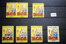 #7386,Seldom Seen MNH Portugal Tuberculosis Stamps Some Ovprints Mother & Child