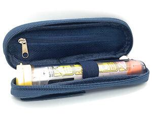 ICE Medical Blue Single Epipen Syringe Case - Allergies Diabetes Inhalers