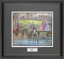 Mort Kunstler THE AUTOGRAPH SEEKERS Framed Print Civil War Wall Art Gift