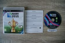 Rugby World Cup 2015 PS3 Game -1st Class FREE UK POSTAGE