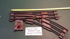 American Flyer Standard Scale Gauge Train Track - Right Manual Switch Track