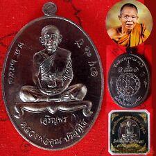 1 Phra LP KOON Wat Banrai CHAROENPORN 91 Coin Lucky Rich Chanuan Buddha Amulet