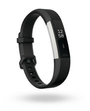 -BRAND NEW-GENUINE-FREE SHIP- Fitbit Alta HR Activity Tracker BLACK SMALL