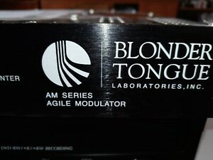 Blonder Tongue AM Series Agile Modulator