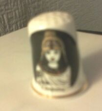 """Birchcroft China Thimble Collectable.  """"Cleopatra"""""""