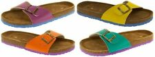Buckle Flat (0 to 1/2 in) Beach & Pool Sandals for Women