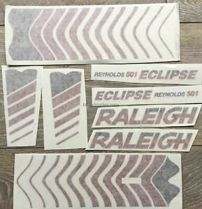Raleigh Eclipse Aufkleber