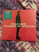 CRAIG DAVID- FOLLOWING MY INTUITION- DELUXE CD+ HMV EXCLUSIVE ACOUSTIC EP- NEW
