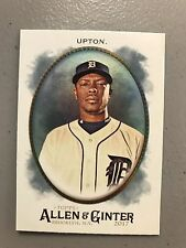2017 Topps Allen & Ginter Foil Parallel Justin Upton Tigers 94