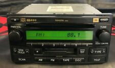 Toyota Highlander OEM Radio with 6 Disc CD Changer for Model Years 04-05-06-07 -