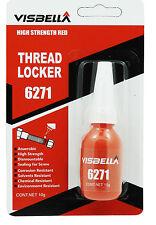 Super Alta Resistencia permanente ThreadLocker, hilo Lock 10ml como Loctite 271