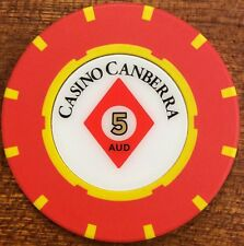 $5 Casino Canberra - Casino Chip new release chip 5 AUD