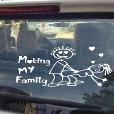 1x My Family Vinyl Decal Sticker Auto Window Decal Sticker Accessories Wearproof