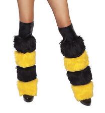 Bienen Kostüm Beinstulpen Beinlinge Flotte Biene extra weich Made in USA