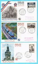 B3052 - FRANCE - 6 Enveloppes 1er Jour de 1955