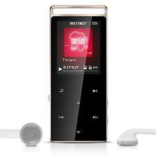 Bluetooth Lettore MP3 8 GB A01T SUONO lossless AGPtek Lettore musicale in metallo con.