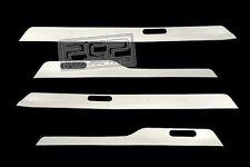2005-2009 BMW E90 335i 330i 325i 3 Series Chrome Door Sill Cover Plates Trim
