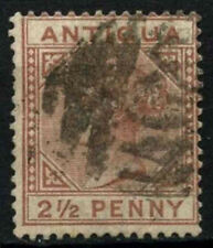 Antigua 1882 SG#22, 2.5d Red-Brown QV Used #D25965