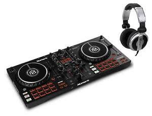 Numark Mixtrack Pro FX 2-Deck DJ-Controller Set Effektpaddeln Software Kopfhörer