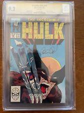 The Incredible Hulk 340 CGC 9.2 Signature Series Peter David